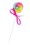 Klein spiraalvormig lollie pop suikergoed Royalty-vrije Stock Foto
