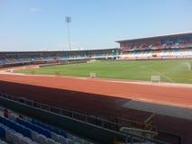 Klein stadion Stock Afbeelding