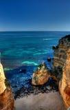 Klein strand dichtbij Dona Ana-strand Stock Afbeelding