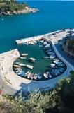 Klein Strand in Ulcinj - Montenegro Stock Foto's