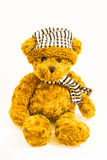Klein Teddy Bear Doll Royalty-vrije Stock Afbeeldingen