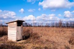 Klein toilet stock afbeelding