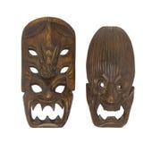 Klein Traditioneel Masker Ifugao (Filippijnen) Royalty-vrije Stock Afbeeldingen
