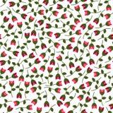 Klein vectorbloemen naadloos patroon Royalty-vrije Stock Foto's