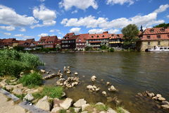 Klein Venedig in Bamberg, Deutschland Stockfotos