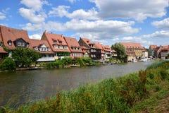 Klein Venedig in Bamberg, Duitsland Royalty-vrije Stock Afbeelding