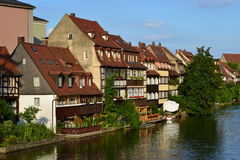Klein Venedig in Bamberg, Germany Stock Images