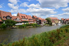 Klein Venedig in Bamberg, Germany Royalty Free Stock Image