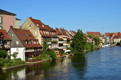 Klein Venedig in Bamberg, Germany Royalty Free Stock Photography
