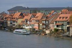 Klein-Venedig (Bamberga, Alemanha) Foto de Stock Royalty Free