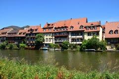 Klein Venedig em Bamberga, Alemanha Imagens de Stock Royalty Free
