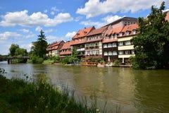 Klein Venedig en Bamberg, Alemania Foto de archivo libre de regalías