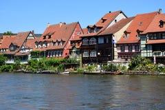 Klein Venedig en Bamberg, Alemania Imagen de archivo