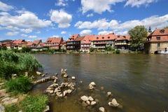 Klein Venedig i Bamberg, Tyskland Fotografering för Bildbyråer