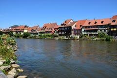 Klein Venedig i Bamberg, Tyskland Royaltyfria Bilder