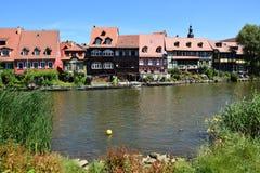 Klein Venedig w Bamberg, Niemcy Fotografia Royalty Free
