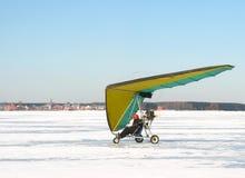 Klein vliegtuig. Stock Afbeeldingen