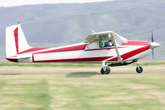 Klein Vliegtuig Stock Afbeelding