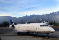Klein vliegtuig in Californië Stock Afbeeldingen