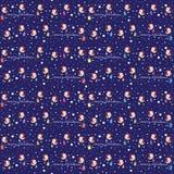 Klein Vogelspatroon Royalty-vrije Stock Afbeeldingen