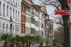 Kleinbasel, Suiza imágenes de archivo libres de regalías