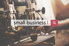 Kleinbetrieb beginnen oben Besitz-lokales Geschäfts-Konzept lizenzfreie stockbilder