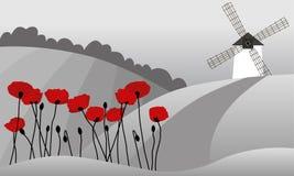 Kleine Abbildung von Provence Lizenzfreie Stockbilder