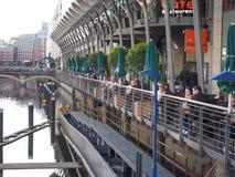 Kleine Alster in Hamburg Stock Images
