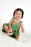 Kleine asiatische Mädchen Stockbild