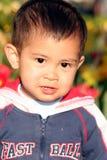 Kleine Aziatische jongen Royalty-vrije Stock Foto