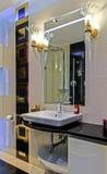 Kleine badkamers fot 4 Royalty-vrije Stock Afbeeldingen