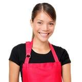 Kleine bedrijfseigenaarportret Stock Foto
