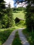 Kleine Berg die in het Dolomiet wordt afgeworpen Royalty-vrije Stock Fotografie