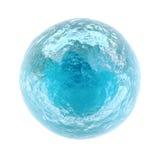 Kleine bevroren planeet Stock Afbeelding