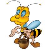 Kleine Biene 07 Stockfotografie
