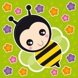 Kleine Biene Stockbild