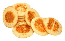 Kleine Blini-Pfannkuchen Lizenzfreie Stockbilder
