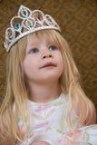 Kleine blonde Prinzessin Lizenzfreies Stockfoto