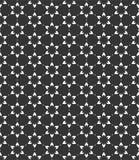 Kleine Blumenmuster-Hintergrundillustration in schwarzem n-Whit stockfoto