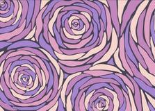 Kleine Blumensträuße mit Bögen lizenzfreie abbildung