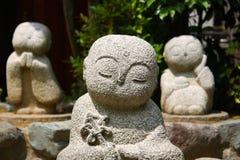 Kleine boeddhistische standbeelden Royalty-vrije Stock Afbeelding