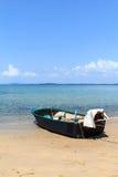 Kleine boot bij golf van Thailand Stock Foto's