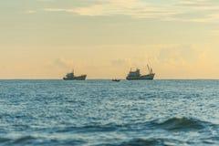 Kleine boot twee Stock Afbeeldingen