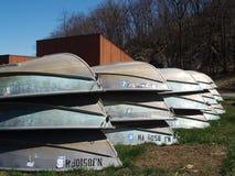 Kleine Boote lizenzfreie stockfotos