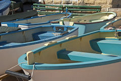 Kleine boten royalty-vrije stock foto