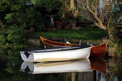 Kleine boten Stock Afbeelding