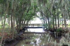 Kleine Brücke Stockfoto