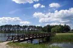 Kleine Brücke Stockfotografie