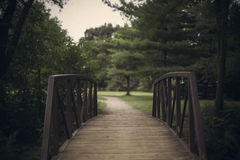 Kleine Brücke Stockbild
