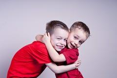 Kleine Brüder stockbild